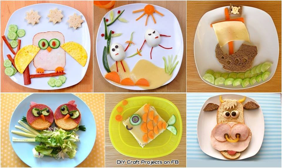 تزئین غذای کودک - سری اول