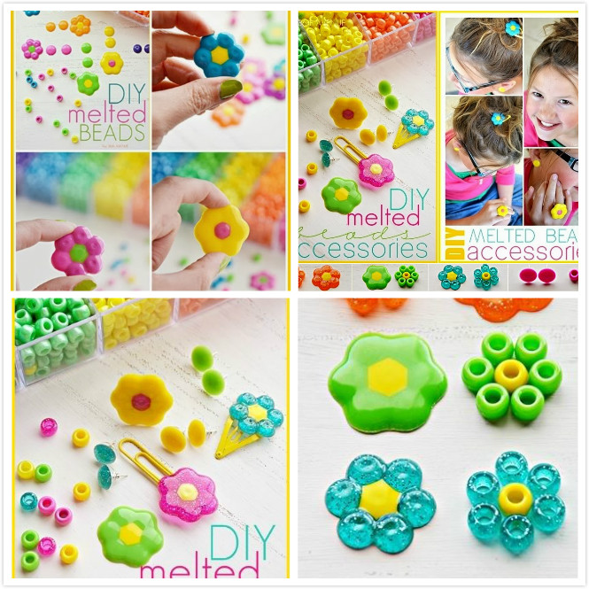 How to DIY Melted Beads Accessories