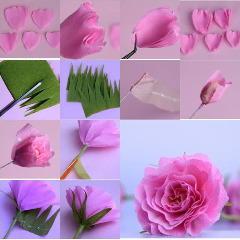 How To Make Paper Rose