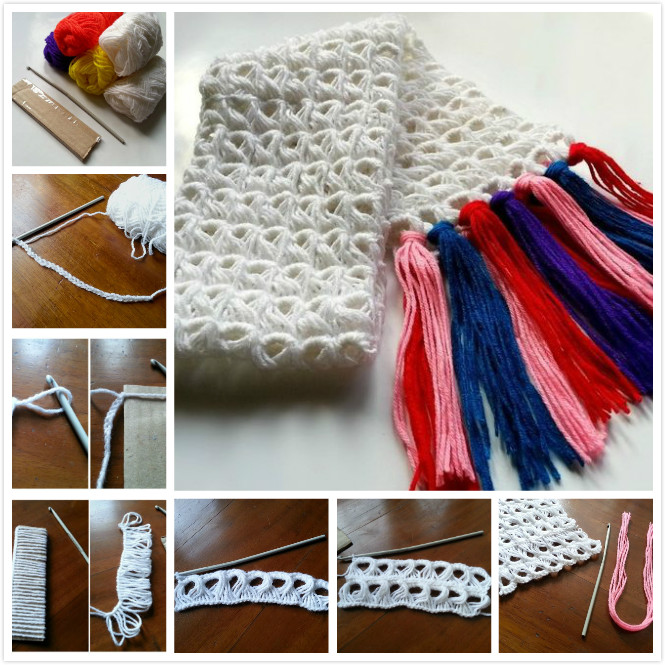 How to Do Broomstick Crochet Scarf