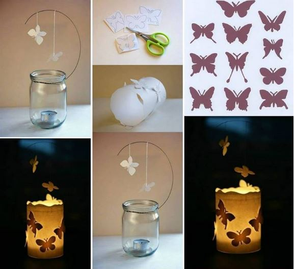 Magical DIY Floating Butterfly Lantern