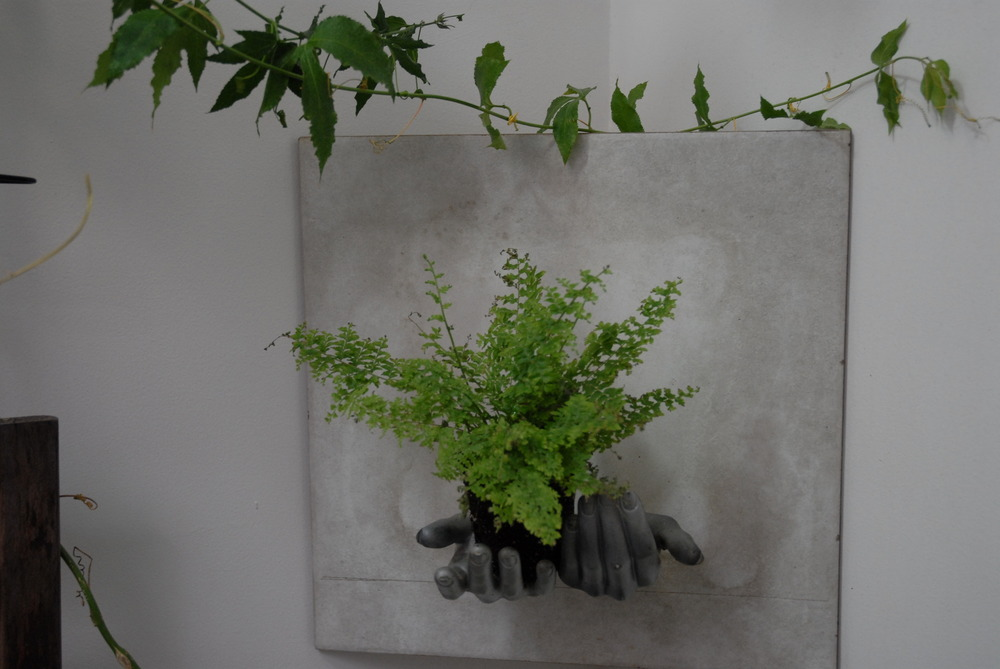 DIY Hand Planters