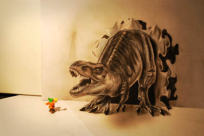 20 amazing ultra-realistic 3D hand-drawn illustrations