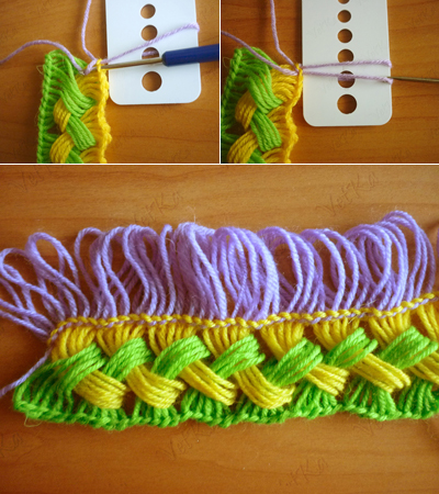 Simple Crocheted Scarf