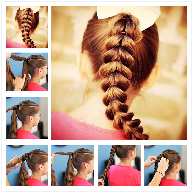 How to Make Easy Cool Braided Hairstyles - How To Make Hairstyle At Home For Girls Step By Step