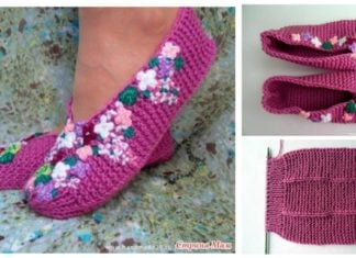 How to Knit a Useful and Pretty Slipper