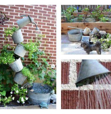 Tipsy Solar Fountain