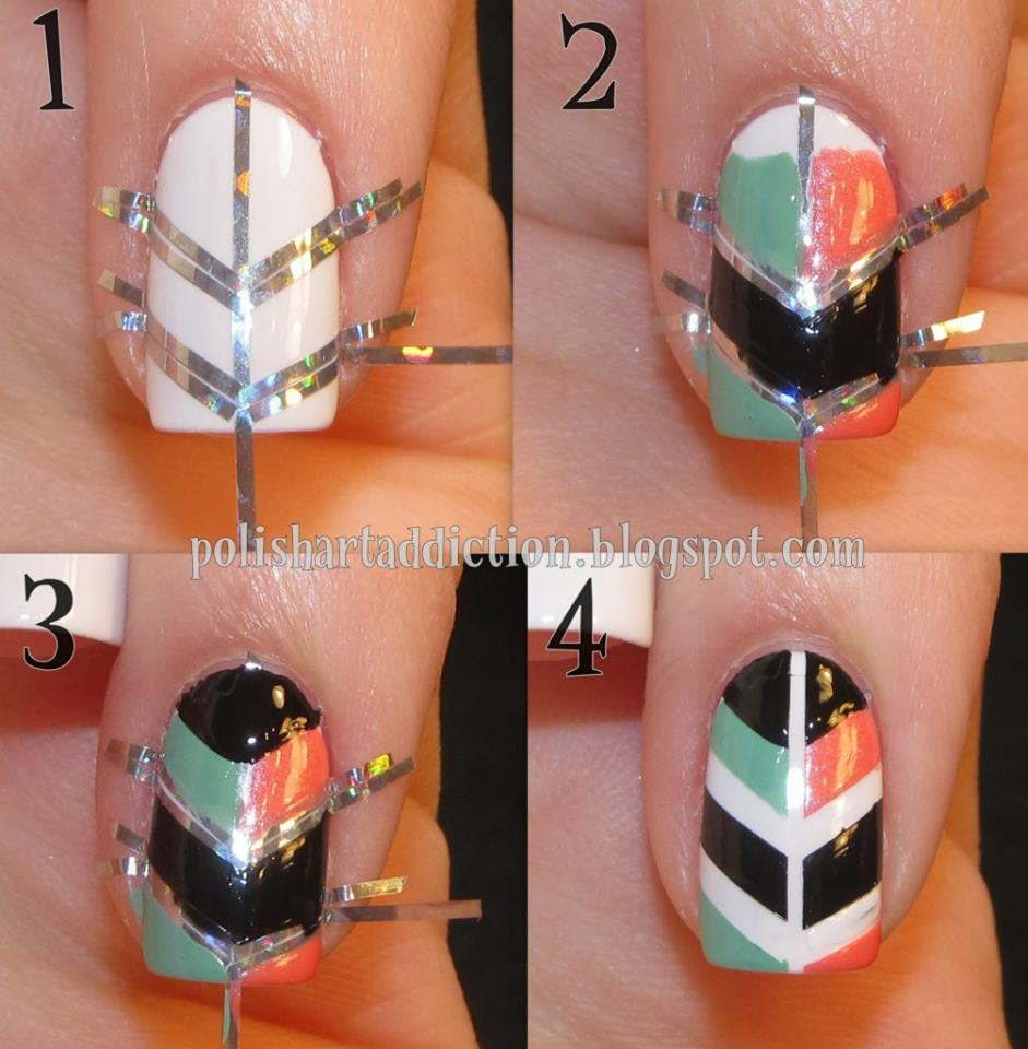 How To Make Great Nail Art Best Nail Ideas - At home nail art designs for beginners