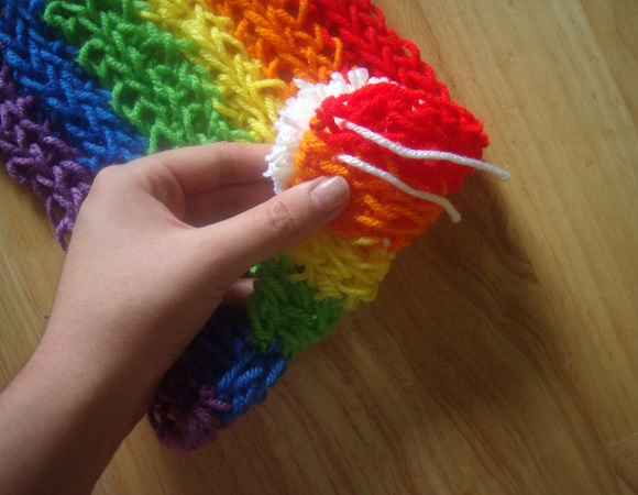 Finger Knitting For Kids : Finger knitting instructions for kids adults