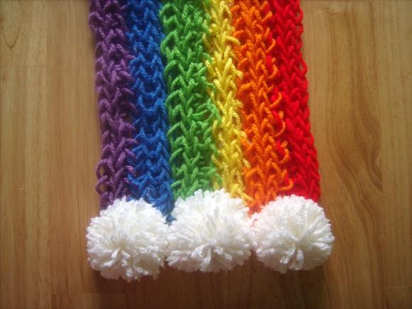Finger Knitting Directions : Finger knitting instructions for kids adults