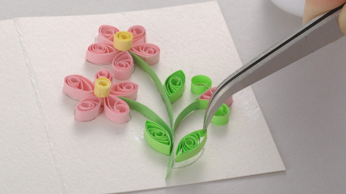 DIY Beautiful Quilling Card