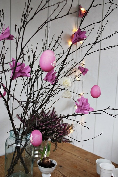 Egg carton craft diy egg carton flower lights Egg carton flowers ideas