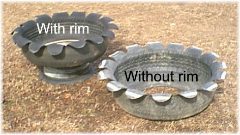 How to DIY Old Tire Garden Ideas —Recycled Backyard