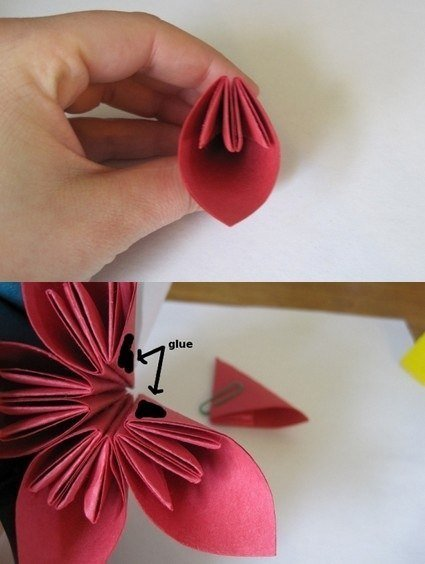How To Fold Cute Diy Kusudama Paper Craft Flower