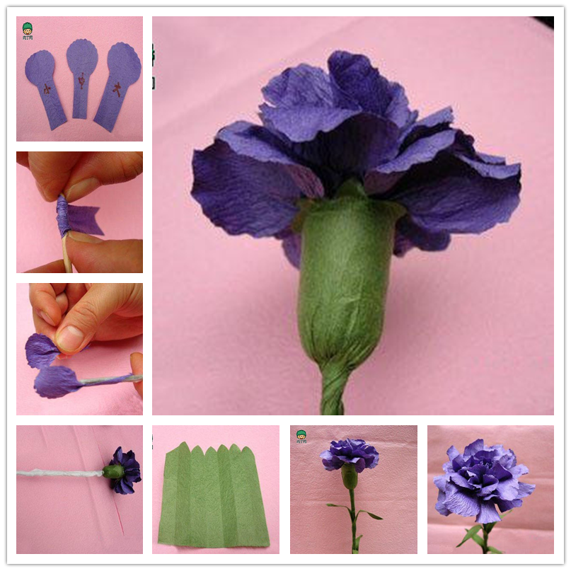 Happy Mother's Day Craft- Make a Carnation for Mom