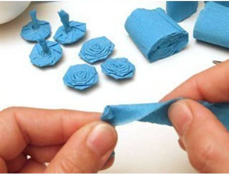 How to make crepe paper flower ball mightylinksfo