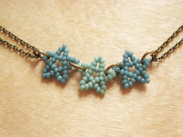 DIY-Beaded-Star-Necklace-9