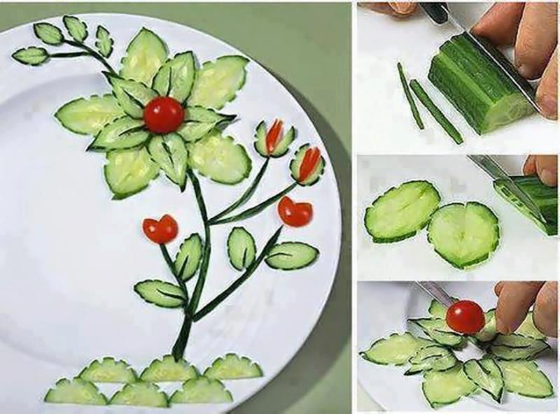 DIY-Cucumber-Flower