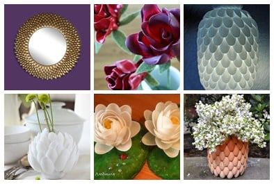 6 DIY Plastic Spoon Decorations