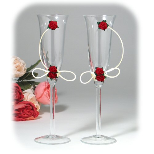DIY-Wedding-Cups-with-Polymer-Clay-Roses-21