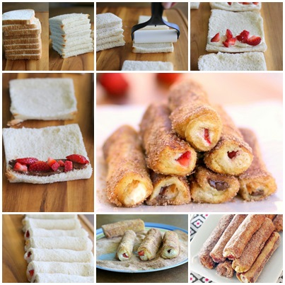 DIY Delicious French Toast Roll-Ups