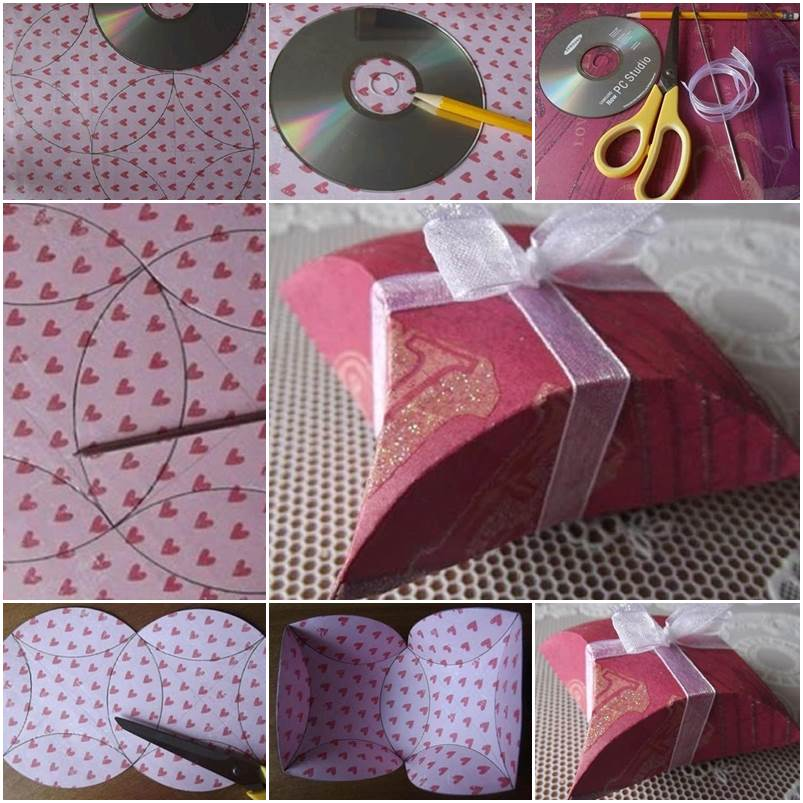 How-To-DIY-Easy-Fold-Paper-Gift-Box-with-CD- f
