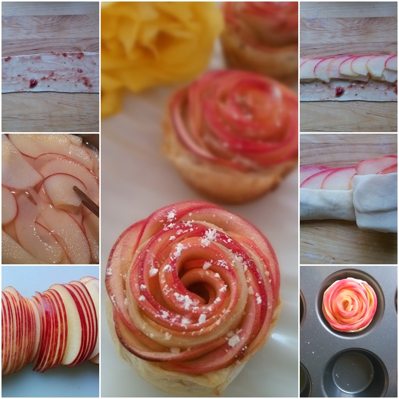 How to DIY Apple Rose Pastry-intro