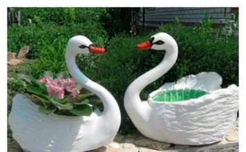 How to DIY Recycled Plastic Bottle Swan Pot Planter