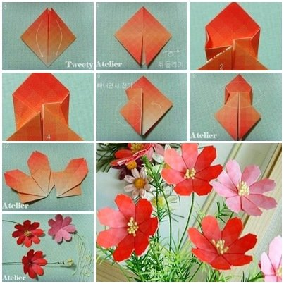 cool creativity � how to make pretty paper craft origami