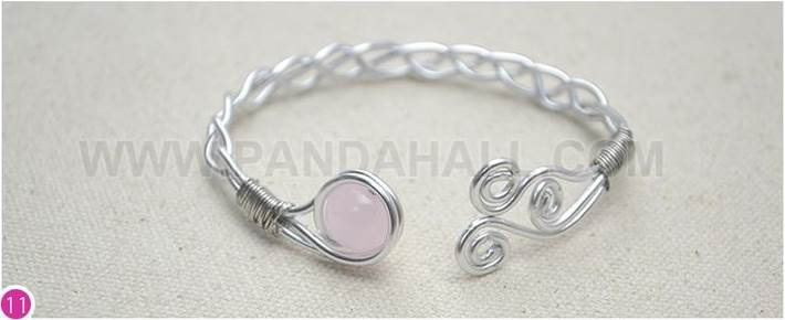 DIY Braided Wire Bracelets
