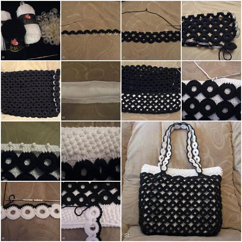 DIY Beautiful Crochet Handbag