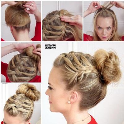 Braid Triple French Braid Double Waterfall Hairstyle