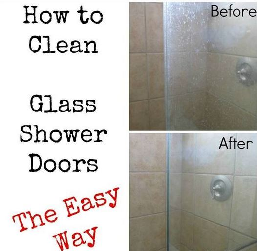 How To Fast And Easy Clean Glass Shower Doors