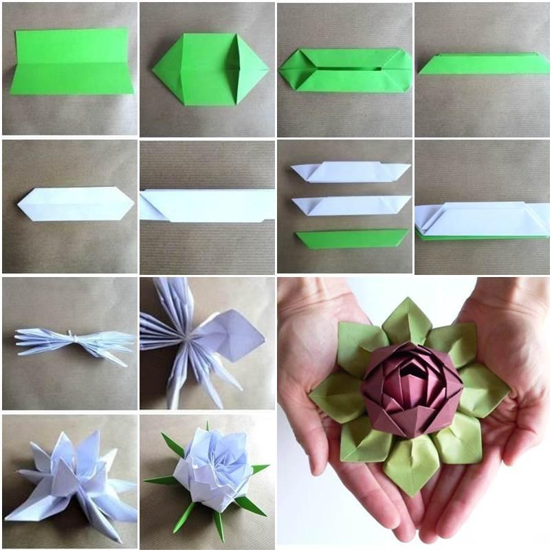 Поделки из бумаги легко и красиво