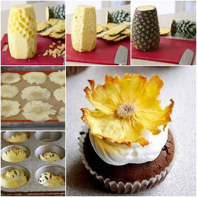 DIY Pineapple Flower