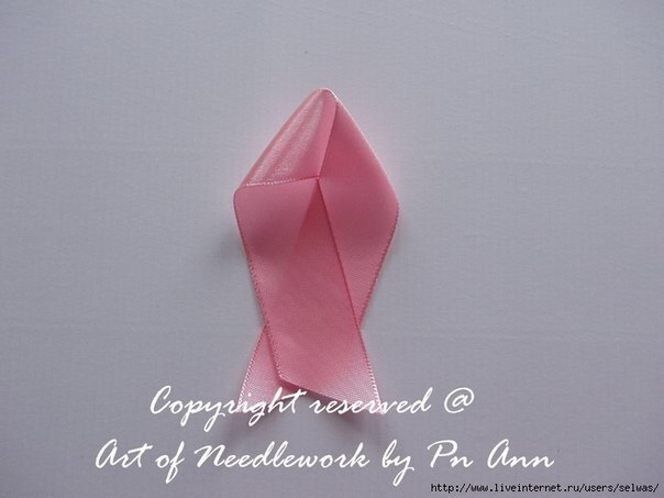 DIY Silk Ribbon Rose Simple Way