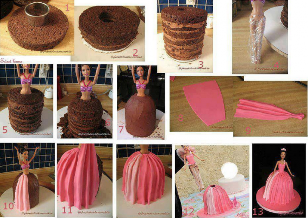 Cake-With-Barbie