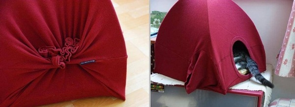 How to Make a Cat Tent In Three Easy Steps