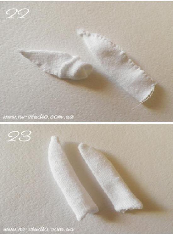 DIY Kawaii Sock Bunny