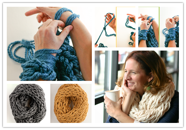 DIY-arm-knitting-scarves
