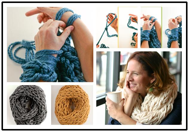 DIY-arm-knitting-scarves
