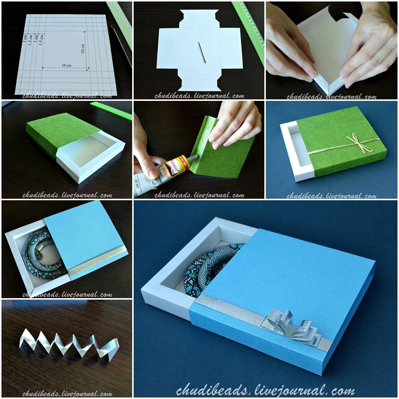 Diy make a beautiful gift box with simple steps - How to make beautiful gift box ...