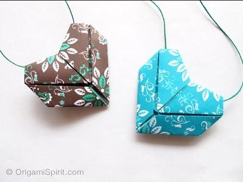 Origami-Hearts
