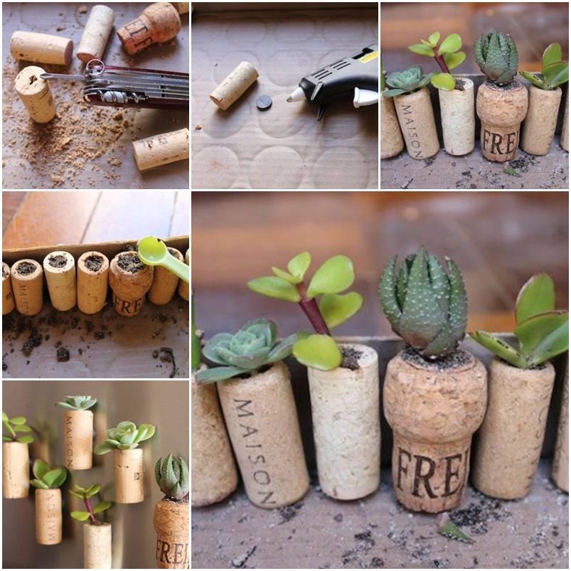 Wine-Cork-Garden
