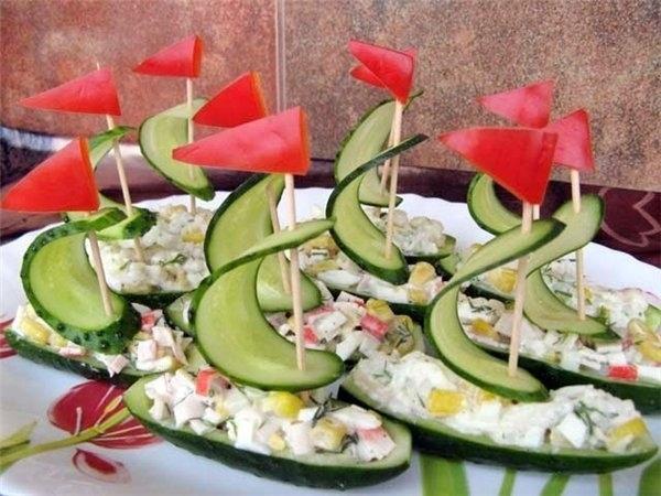 Cool Creativity — DIY Amazing Salad Decoration Vegetables Boat - photo#18