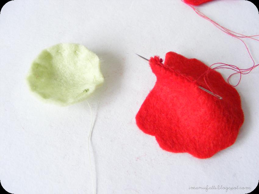 how to make a felt poppy