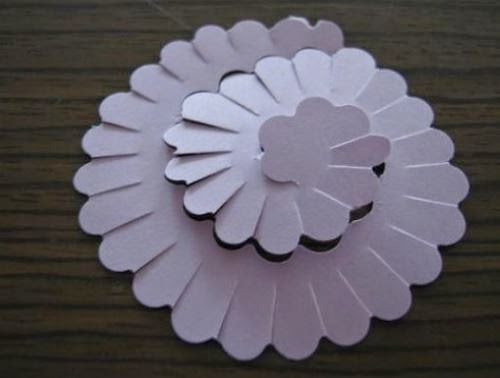 Diy Paper Flowers Wall Art : Cool creativity diy beautiful quilling paper flower wall art