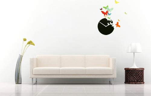 diy-butterfly-wall-art-clock-13 - Cool Creativities