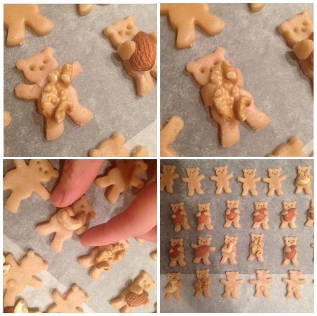 DIY Cute and Sweet Teddy Bear Cookies