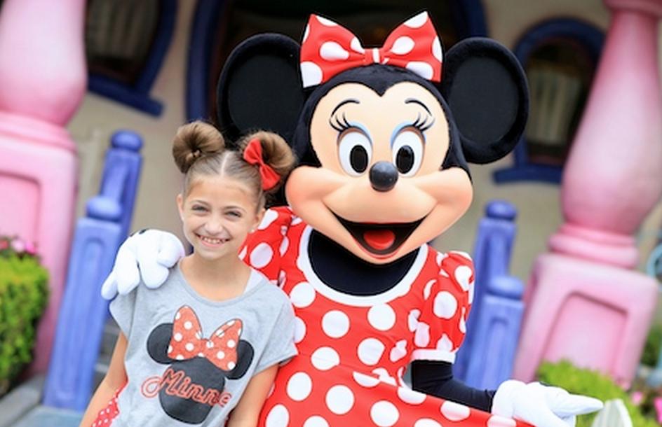 DIY Cute Minnie Mouse Girls Hair Tutorial